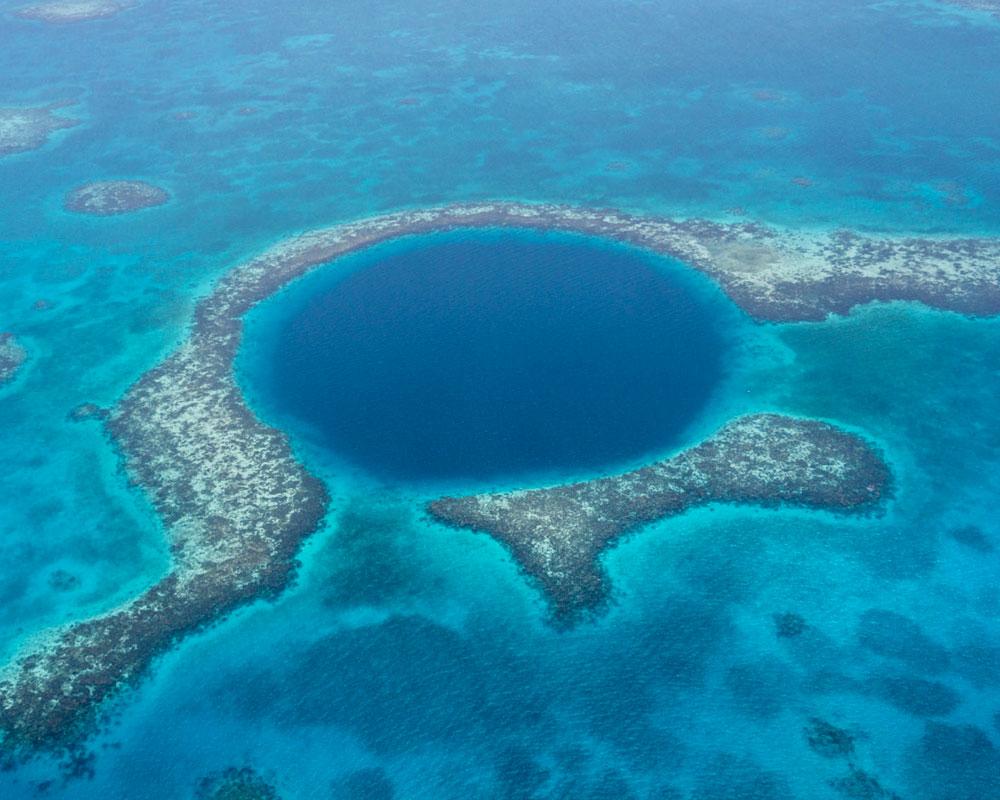 San Pedro Belize Diving Blue Hole
