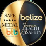 Safe Medal Belize Tourism